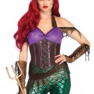 Sku 86660 3 PC Rebel Mermaid Costume Size Large