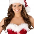 Sku C156 Fur Trimmed Sequin Christmas Hat