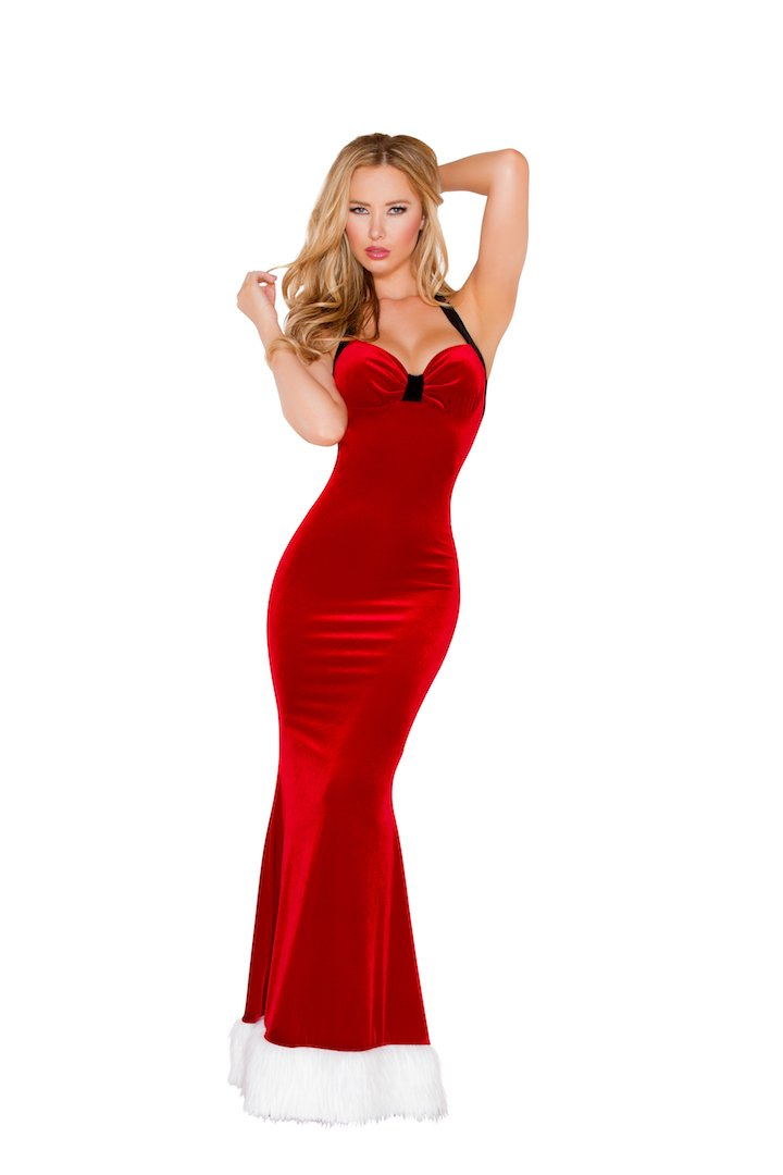 Sku C187 1 PC Santa's Fantasy Gown Size S/M