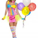 Sku 70495 Miss Clowning Around Costume Size S/M