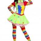 Sku 70471 Big Top Babe Costume Size ML