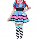 Sku 70715 Dark Rag Doll Costume Size M/L