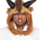 Sku A1522 Brutal Beast Hood Mens Costume Accessorie
