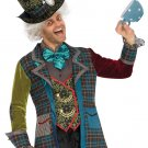 Sku 86691 3 PC Deluxe Mad Hatter Mens Costume Size XLarge