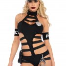 Sku 86692 6 PC Undercover Cop Costume Size Small