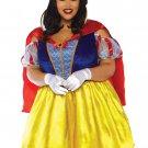 Sku 86765X 2 PC Fairytale Snow White Costume Size 3X/4X