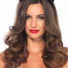 Sku A2783 Velvet Cat Ear Headband