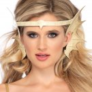 Sku A2808 Gold Mermaid Pearl Starfish Headband