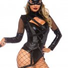 Sku 86759 2 PC Villainess Vixen Costume Size Large