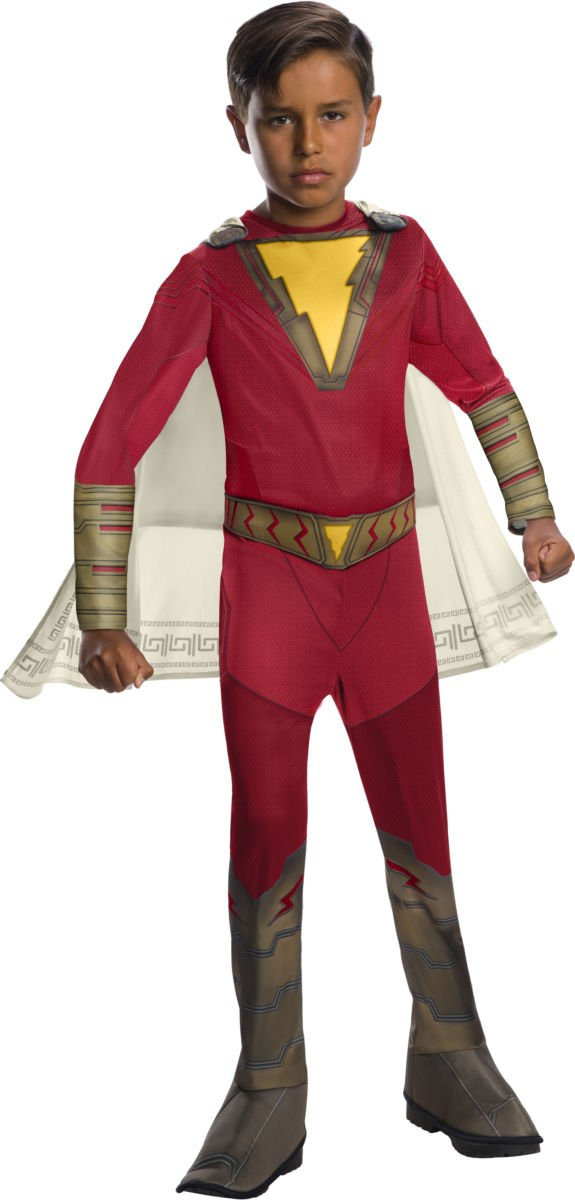 Sku 700707 Kids Shazam Economy Shazam Costume Size Medium