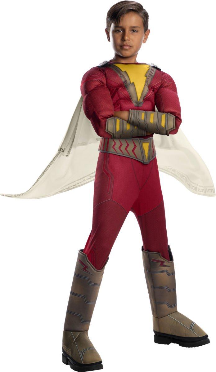 Sku 700706 Kids Shazam Deluxe Shazam Costume Size Medium