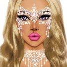 Eye033 Masquerade Adhesive Face Jewels Sticker