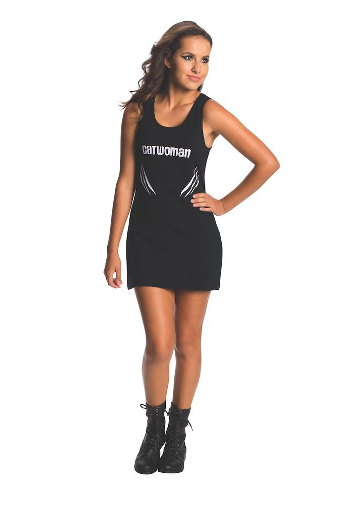 Sku 887904  Tank Dress Teen Catwoman Costume Size Small