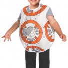Sku 510190   Boy's Star Wars BB-8 Droid Theme Outfit Fancy Dress Toddler Costume  Size 2T
