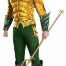Sku 821197    Adult Aquaman Deluxe Aquaman Costume  Size Xlarge