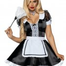 Sku 86922  3 PC Classic French Maid Costume Size Large