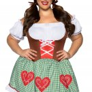 Sku 86881   Bavarian Cutie Costume Size 1X/2X