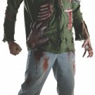 Sku 881571  Deluxe Adult Jason Shirt w/ Molded Pieces and Mask Size XSmall