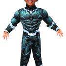 Sku 702034  Toddler Black Panther Deluxe Costume - Super Hero Adventures