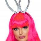 Sku 2767 2 PC Faux Rhinestone Bunny Ear Headband And Heart Choker