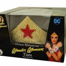 Sku 33996  Wonder Woman Gold Rhinestone Tiara