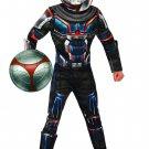 Sku 702064  Kids Task Master Deluxe Costume - Black Widow Movie size small