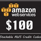 Amazon Web Services $100 Promo Credit Lightsail EC2 PromoCode 2020 AWS Coupon Code For Sale
