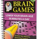 Brain Games #2: Lower Your Brain Age in Minutes a Day , Publications Internation