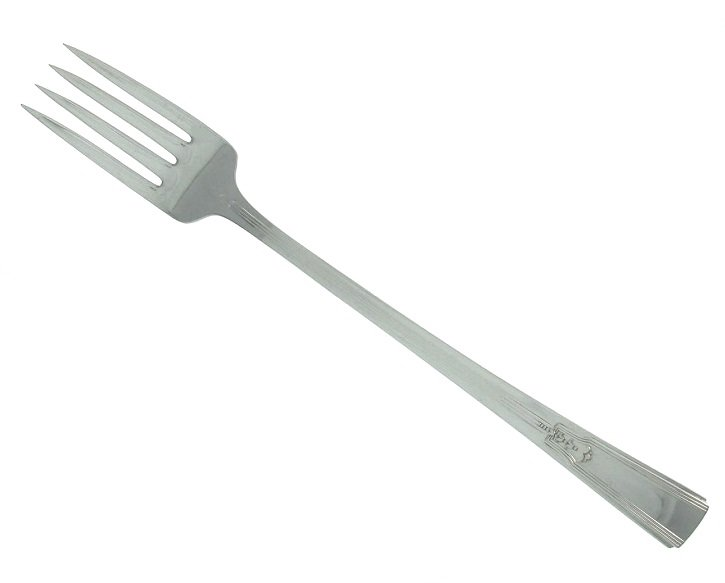 Silverplated Grille Forks Rogers Revelation 1938 Set 4 Replacement Flatware Retro Atomic