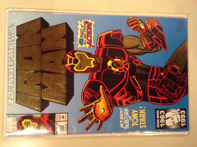 Iron Man 290 (1993) - 30th Anniversary Issue