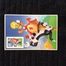 33 Cent Sylvester and Tweetie Bird Postage Stamp - Unused
