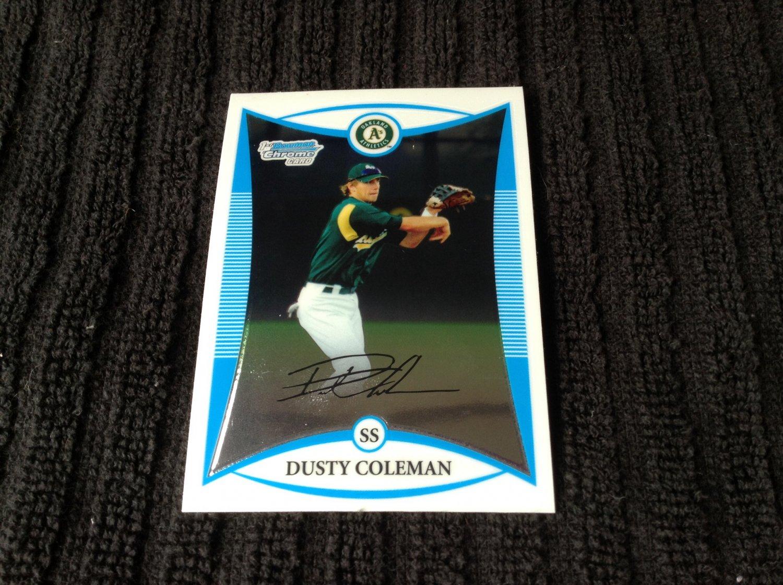 2008 Bowman - Dusty Coleman (BDPP46)