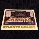 2005 Topps - Atlanta Braves (640)