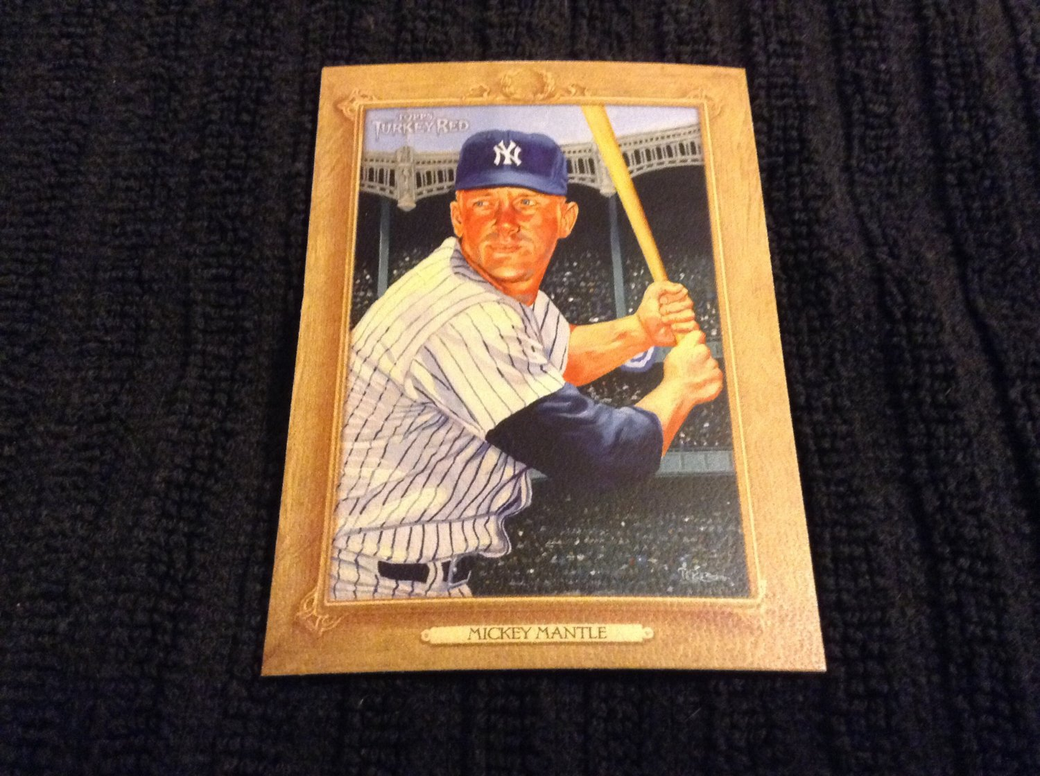 2007 Topps Turkey Red - Mickey Mantle (167)