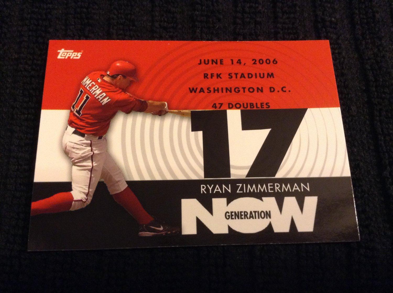 2007 Topps Generation Now - Ryan Zimmerman (GN235)