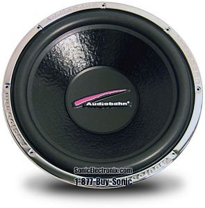 """Natural Sound Subwoofers 15"""" 500 Watts RMS"""