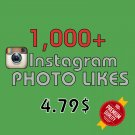1,000 HQ Instagram Photo Likes FAST