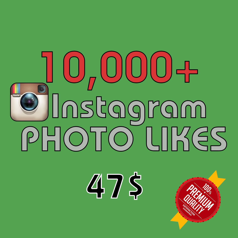 10,000 HQ Instagram Photo Likes