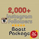 2,000 HQ Instagram Followers in 72 HOURS