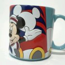 Disney Disneyland Mug Coffee Cup Cruise Line Captain Mickey Minnie Large SkyBlue