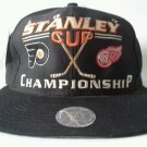 1997 Logo 7 Stanley Cup Championship Snapback Hat Cap Detroit Red Wings Flyers