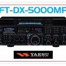Yaesu FT-DX-5000MP Amateur Ham Radio Mouse Pad - white