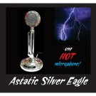 Astatic Silver Eagle - Lightning Bolt Mouse Pad