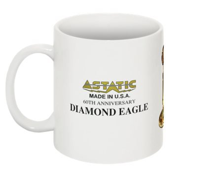 Astatic Diamond Eagle  CB Radio Coffee Mug