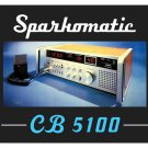 Sparkomatic CB-5100 CB Radio MOUSE PAD  - Great Collectors Item
