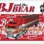 BJ and the Bear Kenworth Greg Evigan Magnetic Postcard