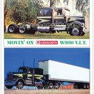 Movin' On Kenworth and 1976 Kenworth V.I.T - Beautiful Postcard Magnet Set
