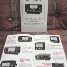 Dosy TC-4002-PSW Instruction Booklet + Bonus FREE Dosy Brochure