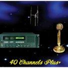 "40 Channels Plus Radio Poster 18"" x 24"""