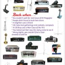 """ Back When "" CB Radio Dialogue Poster 18"" x 24"""